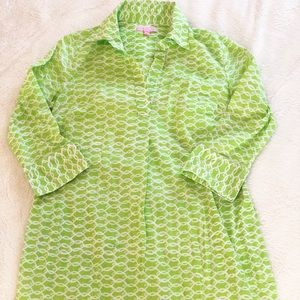 Lilly Pulitzer | green cover up • S
